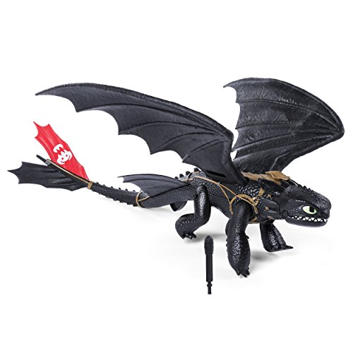 Viking Deluxe Kostüm - Dragons Main Line 6036764 - Barrel Roll Toothless, Action Figur, Dragons, Drachenzähmen leicht gemacht, Ohnezahn