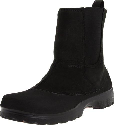 Crocs, Greeley Boot M, Scarpe sportive, Uomo, Nero, 39-40 EU