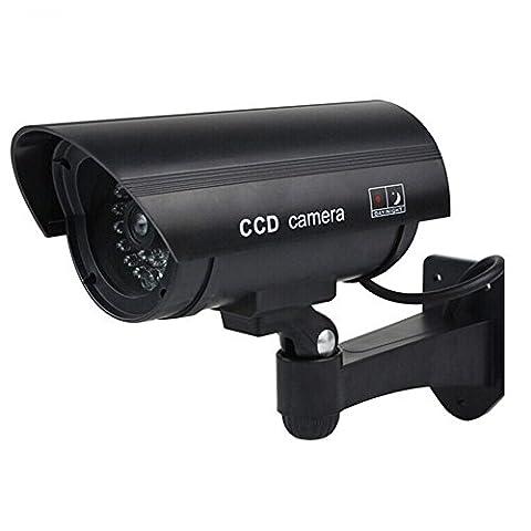 Opuman Draussen und Drinnen Wasserdicht Fälschung Dummy Überwachungskamera Surveillance Monitor