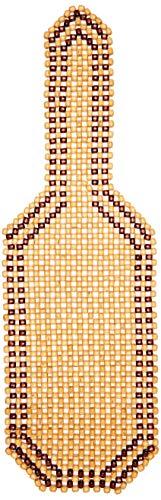 Carpoint 0323212 Coprisedile in palline di legno, Marrone