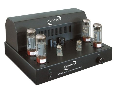 Dynavox VR-70E II Röhrenvollverstärker schwarz