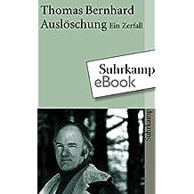 Suchergebnis auf amazon fr thomas bernhard kindle ebook bcher auslschung suhrkamp taschenbuch fandeluxe Images