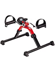 Movimiento Trainer Digital, Color Rojo   Sundo Homecare Pedal de entrenamiento para brazos y piernas, Fisioterapia