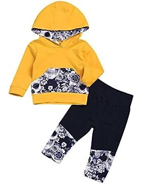 Baby Strampler Babykleidung Longra Neugeboren Baby Junge Mädchen Blume Schädel Knochen Kapuzenpullover Lange Hülse...