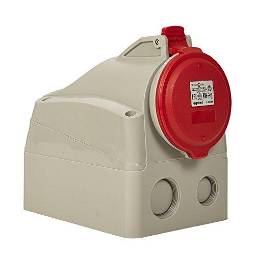 Gris Schneider Electric sc5shn0212435/toma de corriente doble 2/polos 230/V tierra Cedar 3680/W