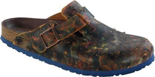 Birkenstock Clogs ''Boston'' aus echt Leder in Vintage Brown All Over Color 43.0 EU R (Leder Color Brown)