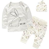 puseky Newborn Baby Cute Bunny vestiti a