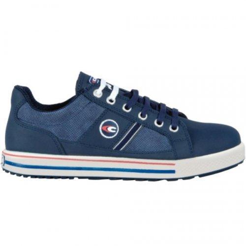 Glory Herren Schuhe (Cofra Sicherheitsschuhe Coach S3 Old Glories in Sneaker-Optik, Größe 38, blau, 35000-002)