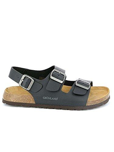 Grunland sb3005 bobo sandalo uomo s. nero 39