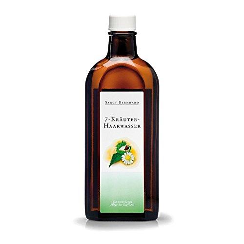 Sanct Bernhard 7-Kräuter Haarwasser mit Salbei, Arnika, Birke, Klettenwurzel, Kamille 250 ml