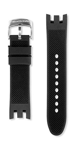 Swatch Irony Chrono Ersatzband Uhrenarmband Silikon 22mm für YRS412