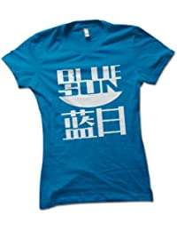 Blue Sun Ladies T-Shirt Choice of 8 Colours in Sizes S to XL
