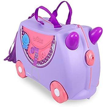 Trunki The Original Ride-On Tony Suitcase, Yellow: Amazon.co.uk: Baby
