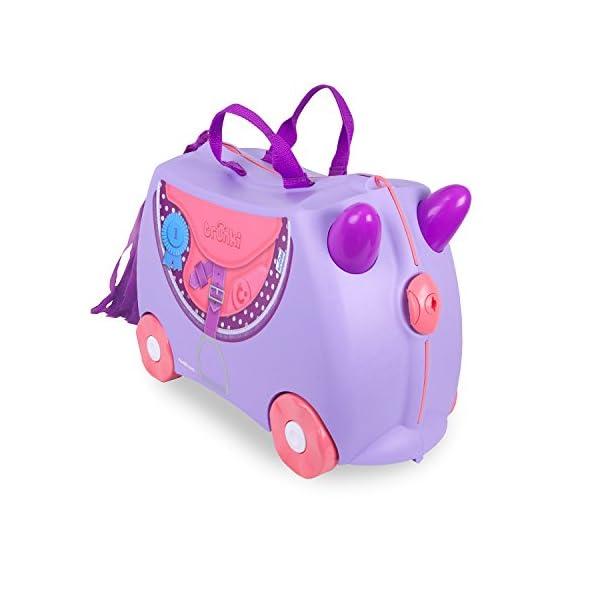 Trunki Ride-On Suitcase - ''Bluebell'' Pony (Purple)