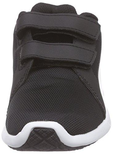 Puma ST Trainer Evo V Inf, Baskets Basses Mixte Enfant Noir - Black (black-white 01)