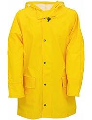 Willax - Chubasquero (poliuretano), color amarillo, talla S