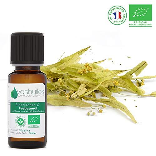 Ätherisches Bio-Teebaumöl (Tea Tree) - 20ml