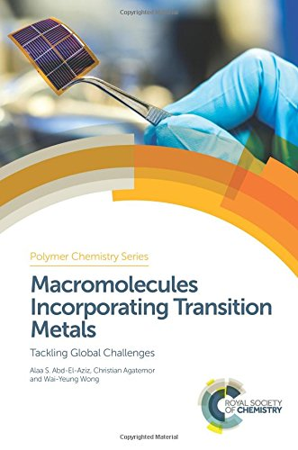 Technologies Metal Global (Macromolecules Incorporating Transition Metals: Tackling Global Challenges (Polymer Chemistry Series, Band 27))