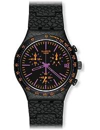 Swatch Herren-Armbanduhr Reptile Violet YCB4015AG