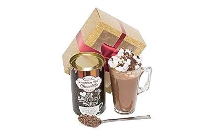 Dark Hot Chocolate Gift Set from Martin's Chocolatier