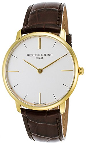 frederique-constant-slimline-gold-plated-steel-mens-strap-watch-silver-dial-fc-200v5s35
