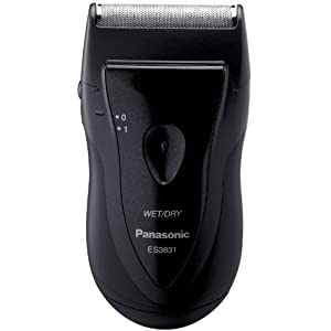 Panasonic ES3831K Single Blade Travel Shaver, Black