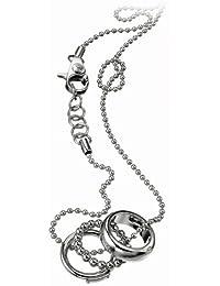 Dolce&Gabbana DJ0663 - Colgante de mujer de acero inoxidable, 60 cm