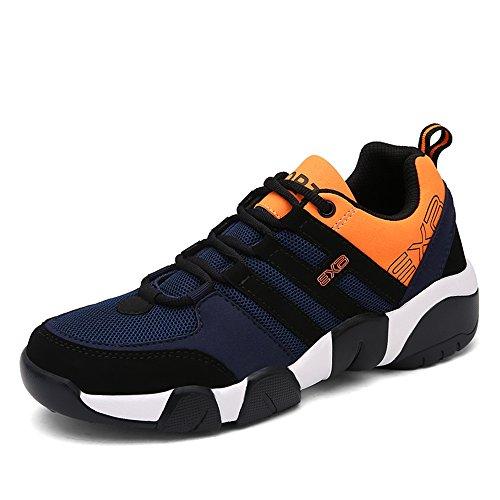 Flyhigh Uomo Donna Scarpe Da Sportive Running Basket Sneakers Estive Nero Rosso Blu Verde arancia Arancia