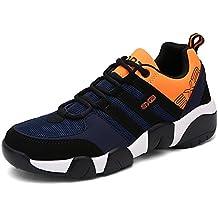 Flyhigh Zapatos para Correr en Montaña y Asfalto Aire Libre y Deportes Zapatillas de Running Padel para Hombre