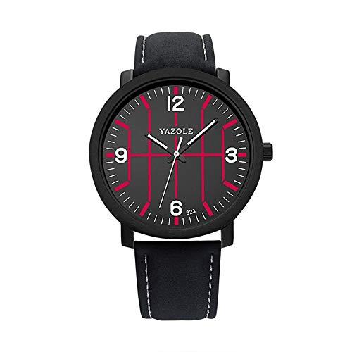 HWCOO Schöne Coole Uhr 323 Uhr Quarzuhr Basketball Uhr schwarz (Color : 1)