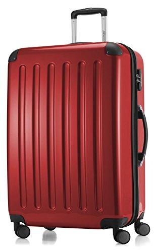 Hauptstadtkoffer - Hartschale Koffer Trolley Serie Alex 119 l rot hochglanz + 20,- Reisegutschein