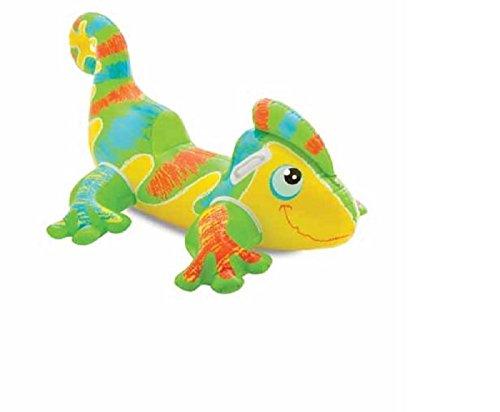 Preisvergleich Produktbild Reittier Badetier Gecko Aufblasbarer Gecko für absoluten Badespaß ! Mit Haltegriff. Größe aufgeblasen: ca. 138 x 91 cm Badespaß für Kinder / aufblasbarer Gecko / Kinderbadeartikel Gecko / aufblasbares Reittier Gecko / aufblasbare Badetiere / aufblasbare Badeartikel für Kinder / aufblasbare Badetiere Gecko / Schuppenechsen / Schuppenkriechtiere / der ideale Badespass für Schwimmbad , See , Strand oder Bade Urlaub