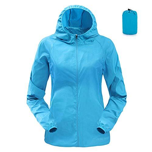 Windjacke Jacke Mantel (OEAK Damen Sonnenshutz Sport Jacke Outdoor Windjacke Leichte Mantel)