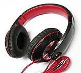 schwarz DJ Über dem Kopf Stereo Kopfhörer Freisprecheinrichtung für Apple iPhone 4 4S 5 Samsung-Galaxie S3 S3 S4 S III lte note II I9300 i9500