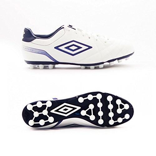 Umbro Classico AG - Scarpe da uomo Blanco / Blueprint