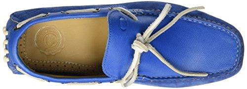 Base London Healey Herren Slipper Blau - Blau (Blue)