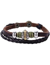9 Stück Freundschaftsbänder Fußkettchen Armband Hippie Boho Schmuck GY