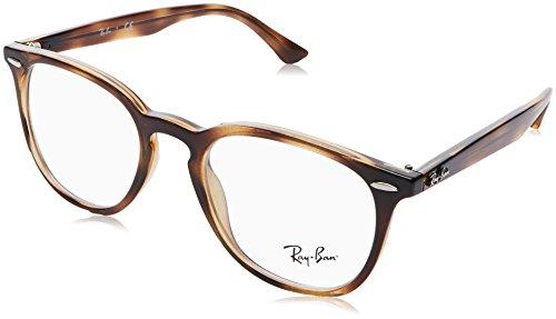 Ray-Ban Unisex-Erwachsene 0RX 7159 2012 52 Brillengestelle, Braun (Havana),