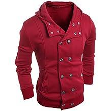 FEITONG TOP moda delgada para hombre Algodón Diseñado capa de la chaqueta de solapa Cardigan
