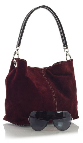Big Handbag Shop, Borsa a spalla donna One Arancione (arancione)