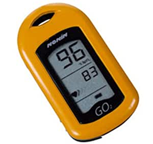 NONIN 9570-O-FR Oxymètre de Pouls SPO2 LCD Retro Eclairé Orange