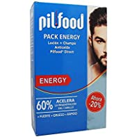 PILFOOD Pack Energy (Loción + champú anticaída)