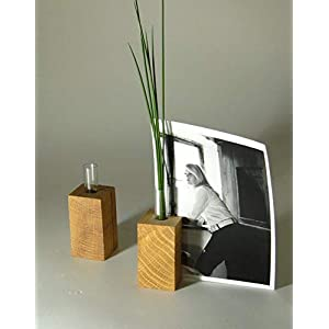 Kartenhalter- Blumenvase- Kerzenhalter