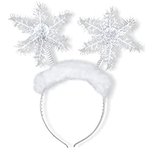 WIDMANN?Diadema copos de nieve Womens, color blanco, talla única, vd-wdm05680