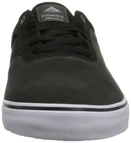 Emerica The Herman G6 Vulc Herren Skateboardschuhe dark grey/black