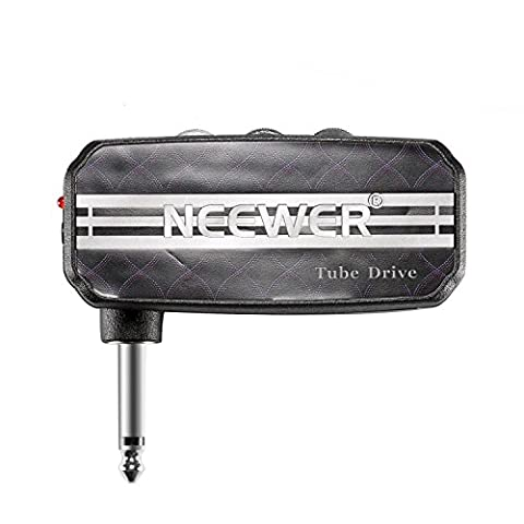 Neewer® Mini Pocket Guitar Headphone Amp Amplifier Tube Drive with 2 AAA Batteries, NW-03, Black