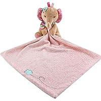 Toalla para bebé con diseño de muñecas de juguete, toalla de seguridad para cochecito