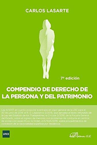 Compendio de Derecho de la Persona y del Patrimonio por Carlos Lasarte Álvarez