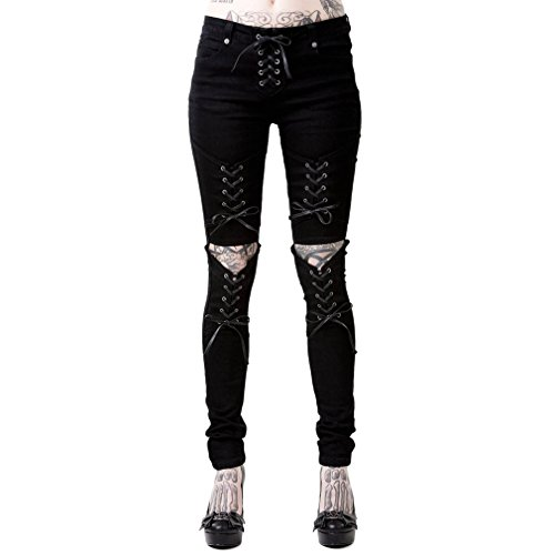 Killstar Skinny Jeans Hose - Phased Out XL