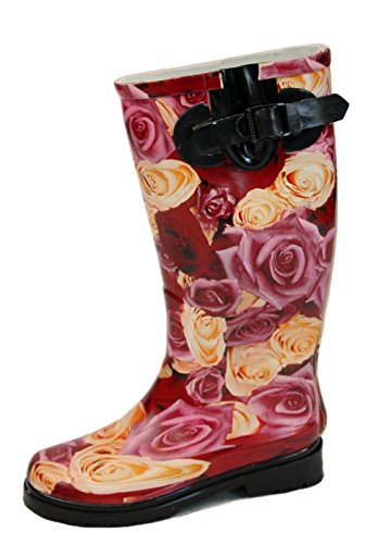 ShoeFashionista Ladies Winter Wellys Fur Ski Rain Wellingtons Womens Snow Boots